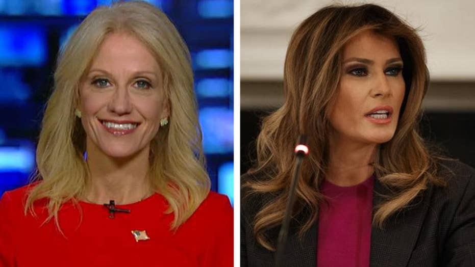Kellyanne Conway blasts media's Melania conspiracy theories