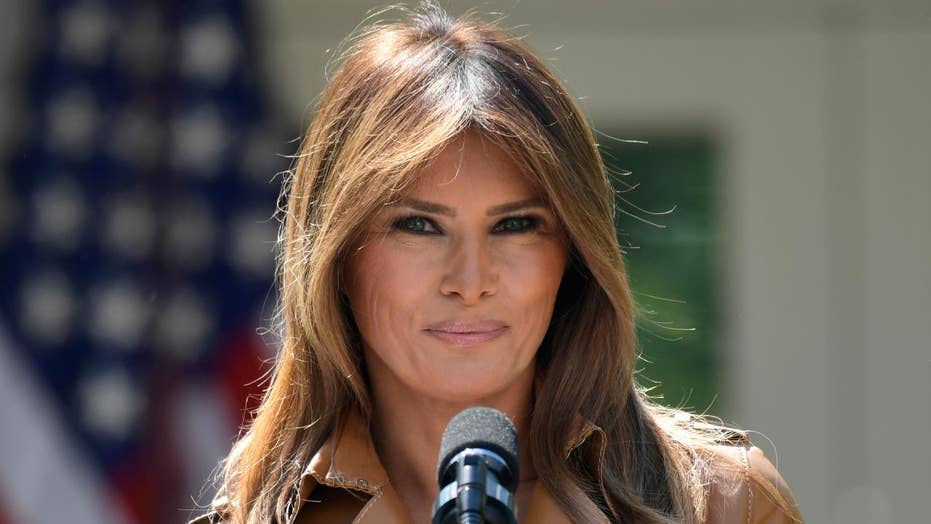 Media focus on Melania's whereabouts