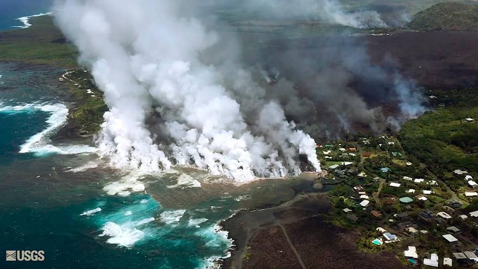 Lava quickly swallows up more homes in Hawaii