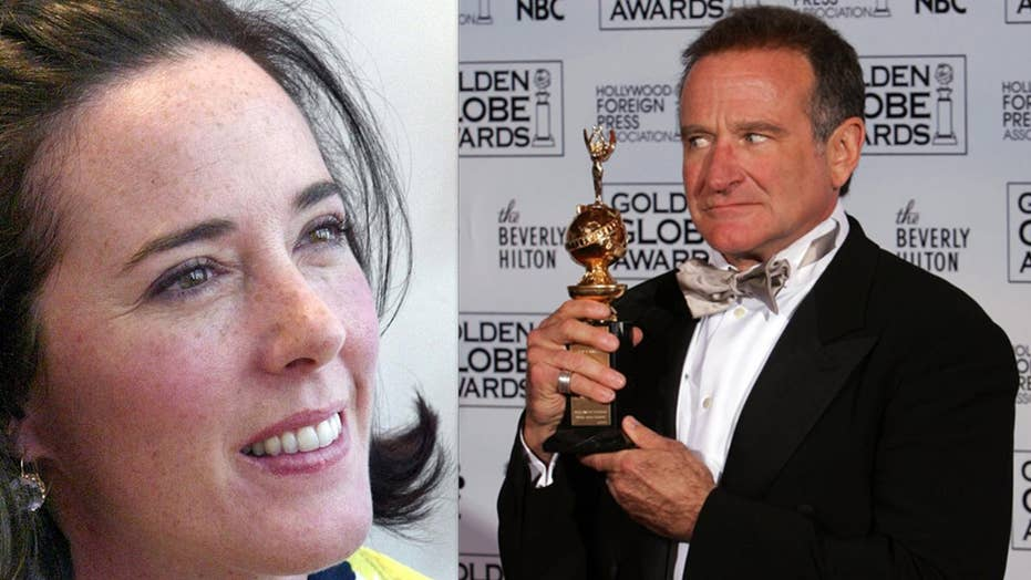 Kate Spade & Robin Williams: Tragic celebrity hanging deaths