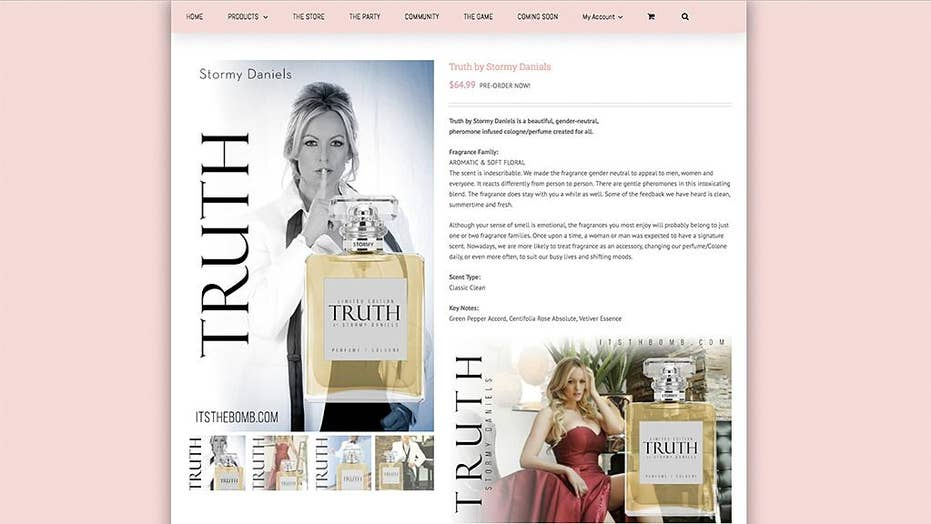 Mixed reactions to Stormy Daniels' new fragrance 'Truth'