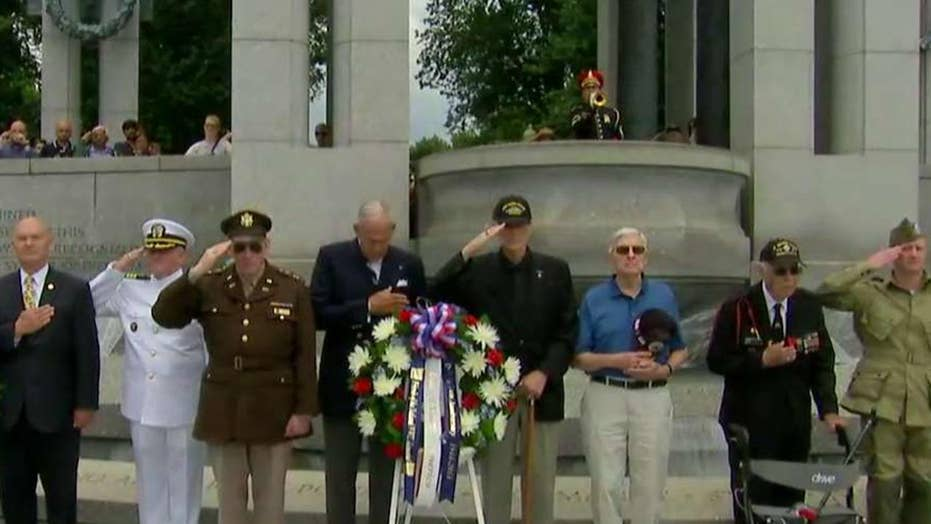 D-Day veterans commemorate 74th anniversary