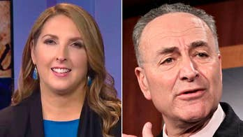 Minority leader says he likes Democrats' chances of retaking the Senate; Ronna McDaniel says the GOP is in a better position to expand Republicans' majorities.