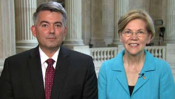 Republican Senator Cory Gardner of Colorado and Democratic Senator Elizabeth Warren of Massachusetts join 'The Daily Briefing' to discuss their bipartisan bill seeking to give states more authority in making laws on marijuana.