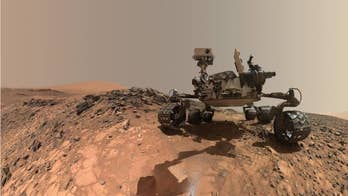The Mars Curiosity rover's discoveries through the years.