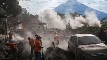 Six kids hurt in volcano eruption