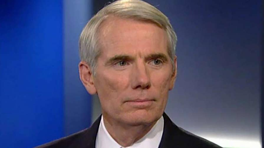 GOP Senate report accuses the Obama administration of misleading Congress and the public regarding the Iran nuclear deal; Senator Rob Portman explains on 'Fox News @ Night with Shannon Bream.'
