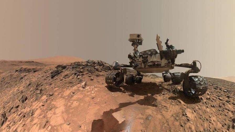 Discussion on new Mars science results from Curiosity Rover.