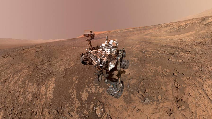 NASA makes a major announcement about the Curiosity rover's findings on Mars. Does the discovery of organic material mean there is or was life on the red planet?