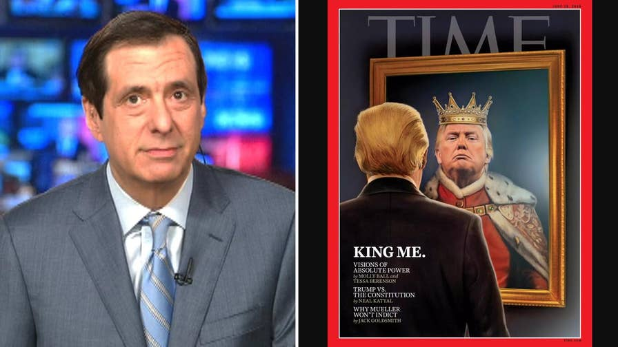 'MediaBuzz' host Howard Kurtz weighs in on the mainstream media's portrayal of President Trump as being on the edge of self-destruction despite his poll numbers increasing.