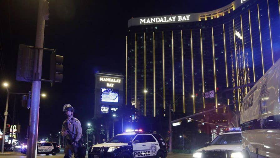Newly released video and audio capture the panic and fear of the concertgoers who found themselves under fire from gunman Stephen Paddock; chief correspondent Jonathan Hunt reports from Los Angeles.