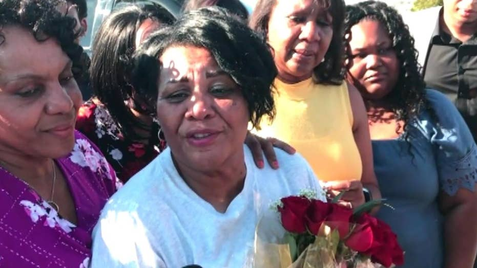 Alice Johnson thanks Trump after release from prison