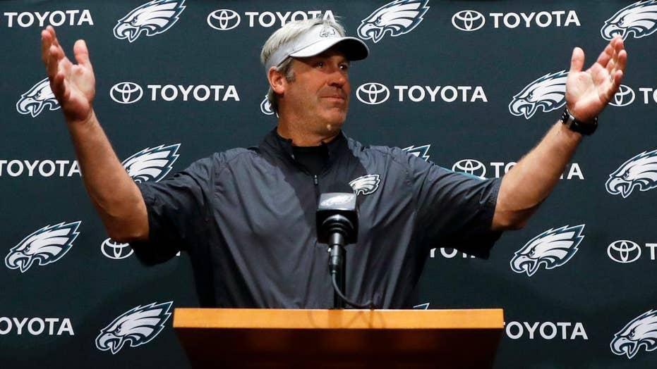 Eagles coach addresses canceled White House visit