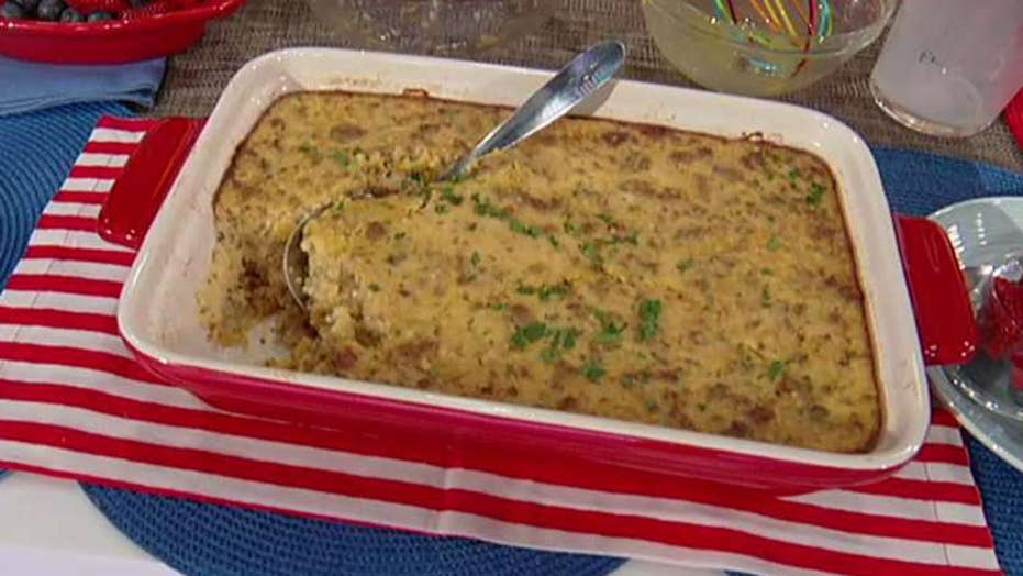 Cooking with 'Friends': Ellison Barber's grits casserole