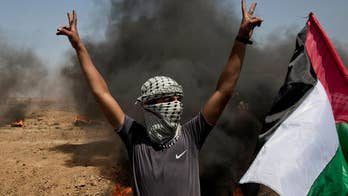 Conor Powell reports on the clashes at the Israeli border with the Gaza Strip.
