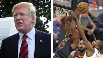 The NBA championship series isn't over yet but President Trump has preemptively uninvited top NBA players from future White House visits; reaction from the 'Your World' Generation Hexed panel.