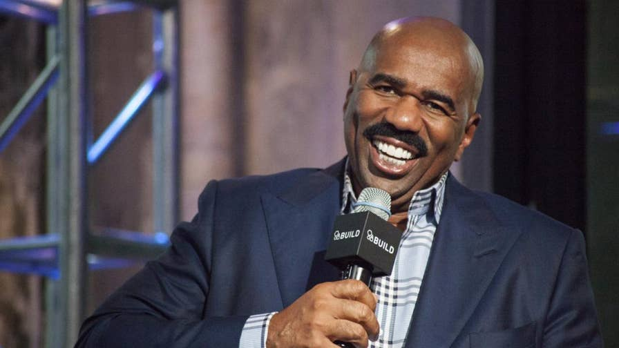 Television host Steve Harvey came under fire after he twice referred to Golden State Warriors players as 'gorillas' in a conversation with an ESPN commentator after Game 3 of the NBA Finals.