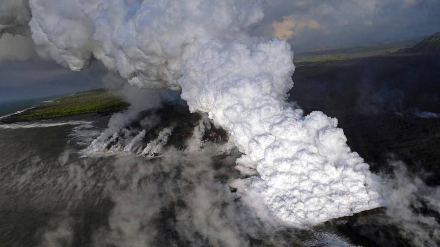 Scientists with the U.S. Geological Survey say they don't know when the volcanic activity will stop.