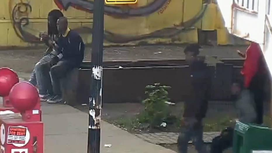 Video shows scene prior to Chicago officer-involved shooting