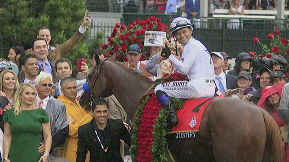 Trainer: Justify in 'beast mode' ahead of Belmont Stakes