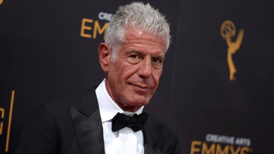 Celebrity chef Anthony Bourdain dead in an apparent suicide