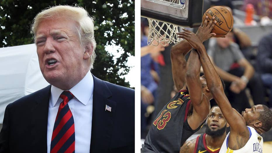 President Trump: NBA champions not invited to White house