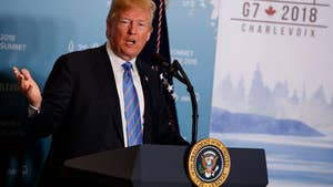 President Trump says a G8 that includes Russia is more meaningful than a G7, blames President Obama for letting Crimea 'get away.'