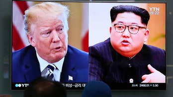 President Trump says at a minimum he will begin a dialogue with the North Korean leader and at a maximum they will reach a broad agreement; Rich Edson reports from Singapore.