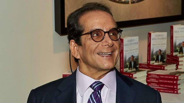 Tucker: Charles Krauthammer a genuinely brave and happy man