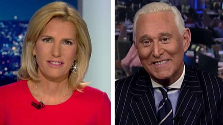 Rep. Adam Schiff questions the credibility of Roger Stone's testimony before the House Intelligence Committee; Stone responds to the congressman on 'The Ingraham Angle.'