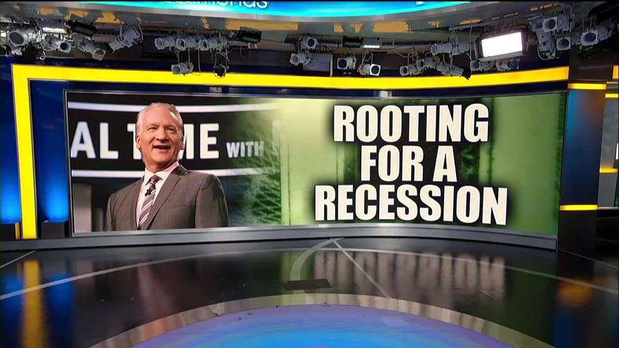 Bill Maher calls out Trump, says a recession could end his presidency