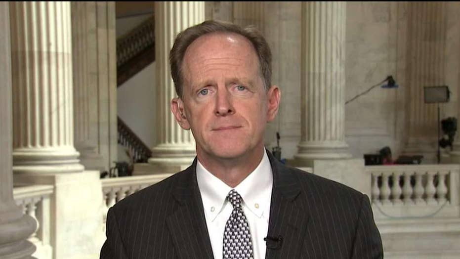 Sen. Toomey on move to curb Trump's trade authority