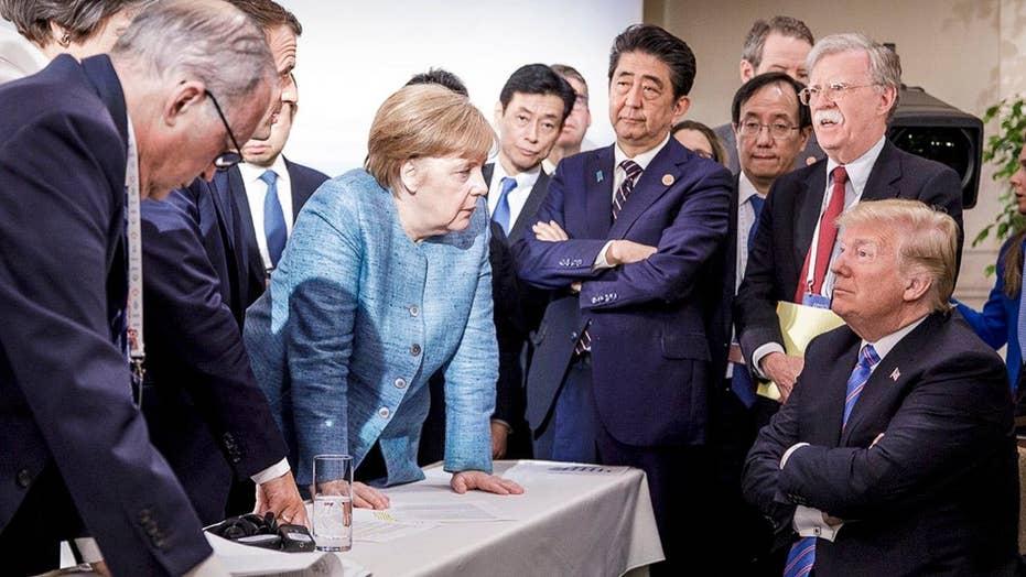 Media in meltdown mode over Trump's trip to G7 summit