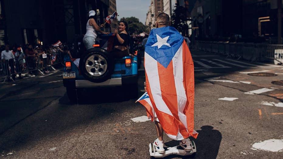 NYC Puerto Rican Day parade honors hurricane responders