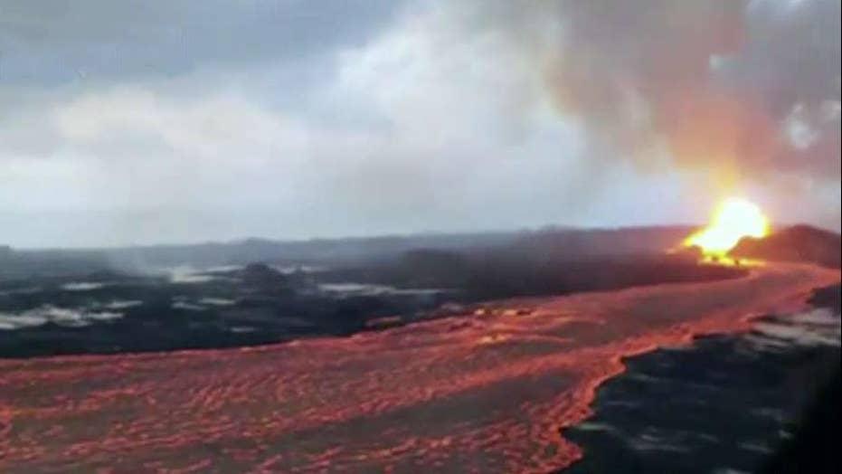 Hawaii's Kilauea volcano spews more lava and ash