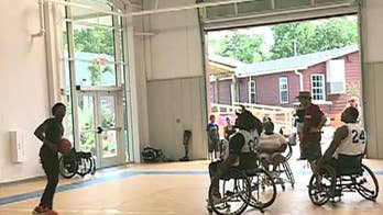Carley Shimkus gets an inside look at a new camp in Virginia Beach for wounded veterans, Gold Star families and children with disabilities.