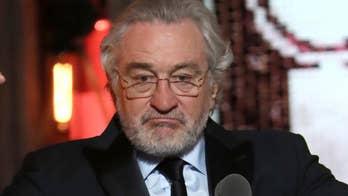 Robert De Niro gives expletive-filled speech against President Trump; Laura Ingle recaps theater's big night.