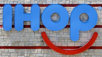 International House of Pancakes flipped the 'P' in their name to a 'b'; Jeff Flock explains what the 'b' in IHOb stands for.