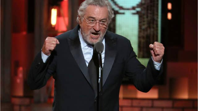 Robert De Niro drops F-bombs at Tony awards.