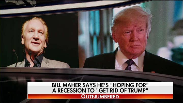 'This Plays Right Into Trump's Playbook': Maher's Recession Remarks Spark Outrage