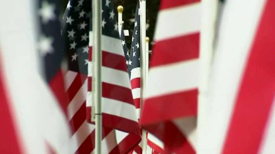 Community begs for return of flags stolen from Mansfield's Field of Honor.