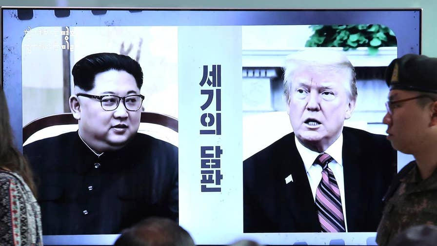 A look back at the key moments leading up to the historic meeting between President Trump and Kim Jong Un.
