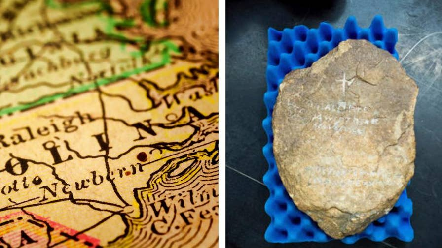 How new technology could unveil the secrets behind a rock that may have etchings that reveal what happened on the 'lost colony.'
