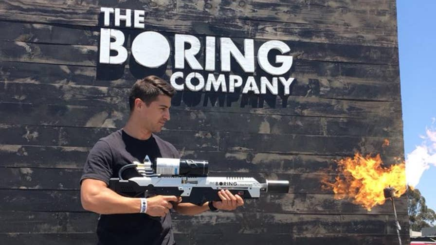 Elon Musk's The Boring Company has released the first batch of its 'Not A Flamethrower' and some buyers are already selling theirs on eBay for up to $20,000.