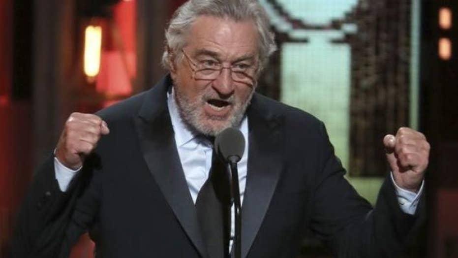 Robert De Niro hurls f-bomb at Trump at Tony Awards