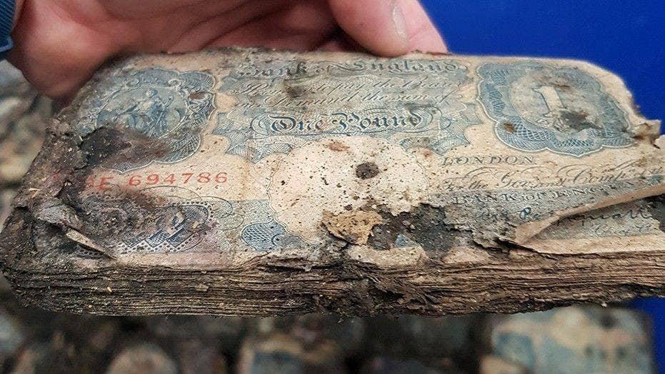 WWII-era money worth $2.5M found under store