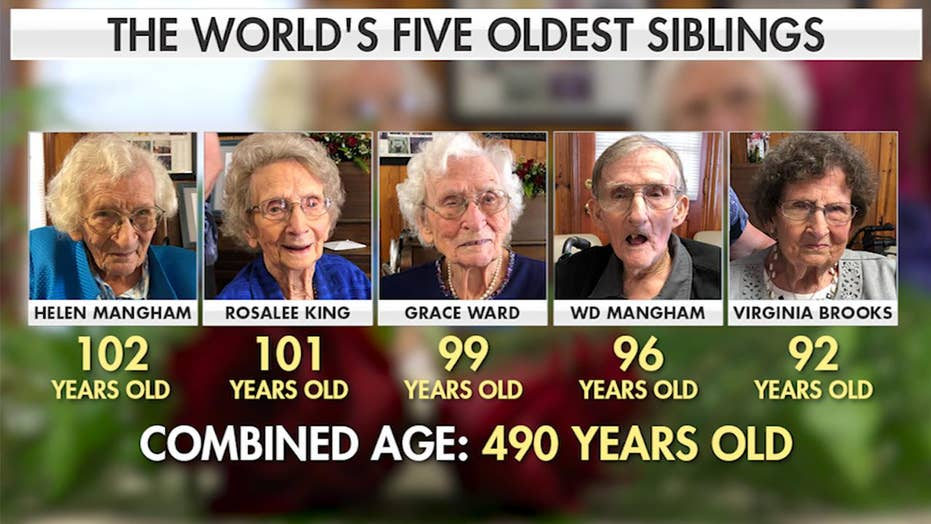 Georgia is home to world's five oldest siblings