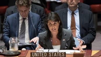 White House praises U.S. ambassador to the United Nations Nikki Haley; Todd Piro reports.