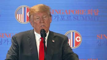 President Trump takes questions from the media following summit with Kim Jong Un, says Otto Warmbier didn't die in vain, wants ultimately to bring U.S. troops home from Korean Peninsula.