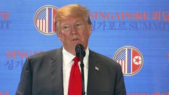 President Trump answers questions from reporters following Singapore summit, says he will probably need another meeting with North Korean leader Kim Jong Un.